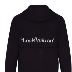 "Louis Vuitton x Nigo Black ""Squared"" Sweater"